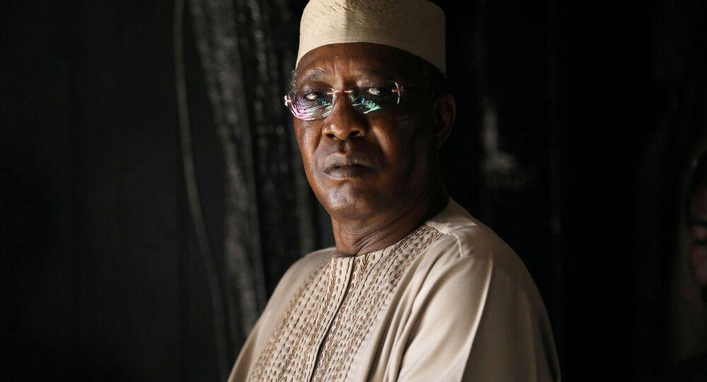 Il presidente del Ciad, Idriss Déby