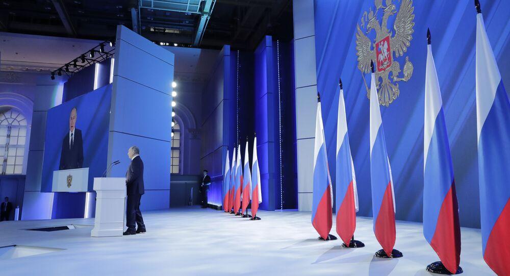 Il discorso di Vladimir Putin all'Assemblea federale