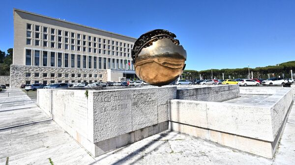 Вид на здание Министерства иностранных дел Италии в Риме - Sputnik Italia