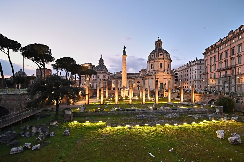 Il Foro di Traiano è il più esteso e monumentale dei Fori Imperiali di Roma, l'ultimo in ordine cronologico