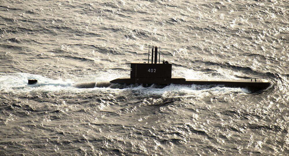 Il sottomarino indonesiano KRI Nanggala 402