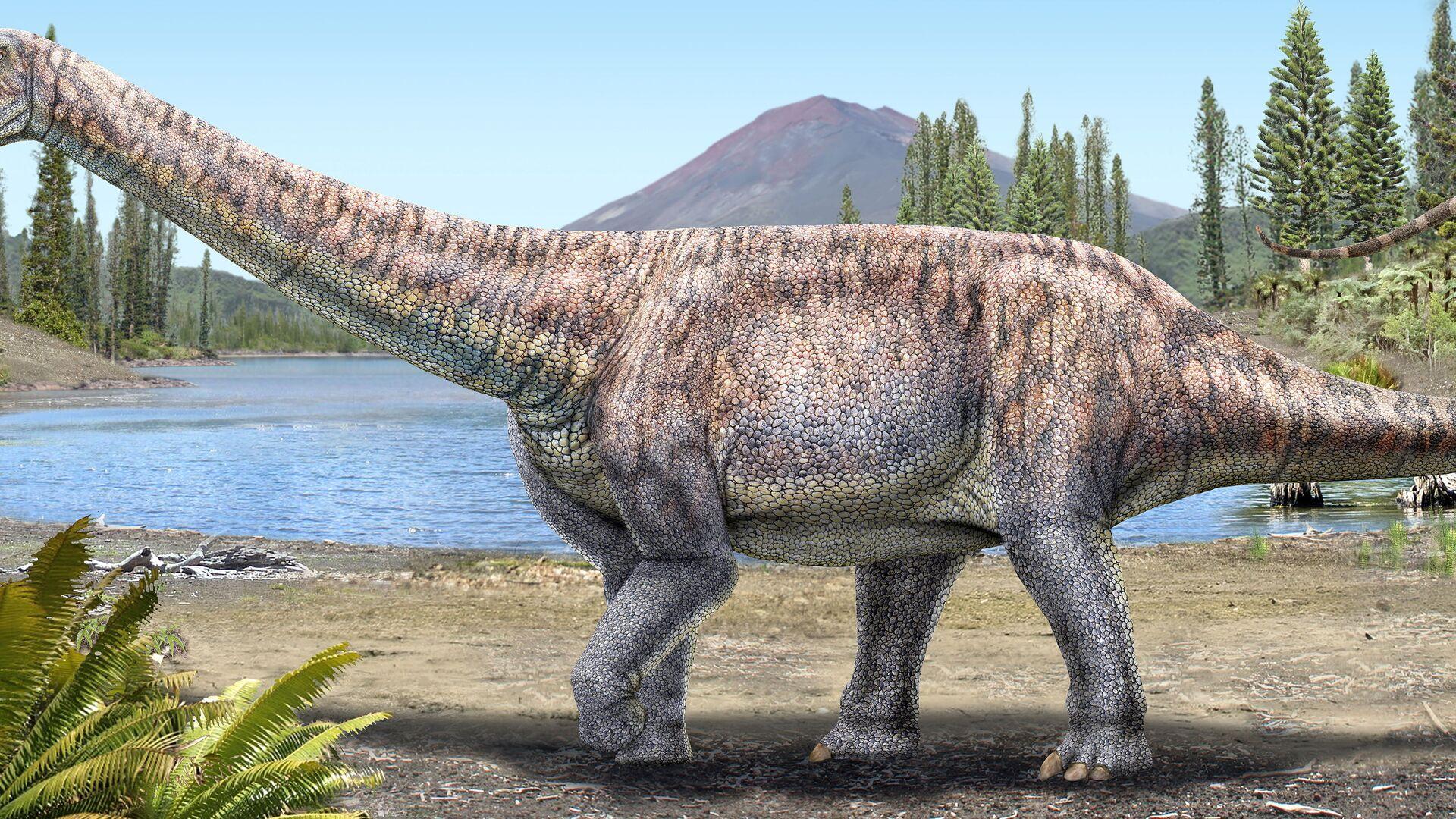 Dinosauro Arackar licanantay - Sputnik Italia, 1920, 09.07.2021