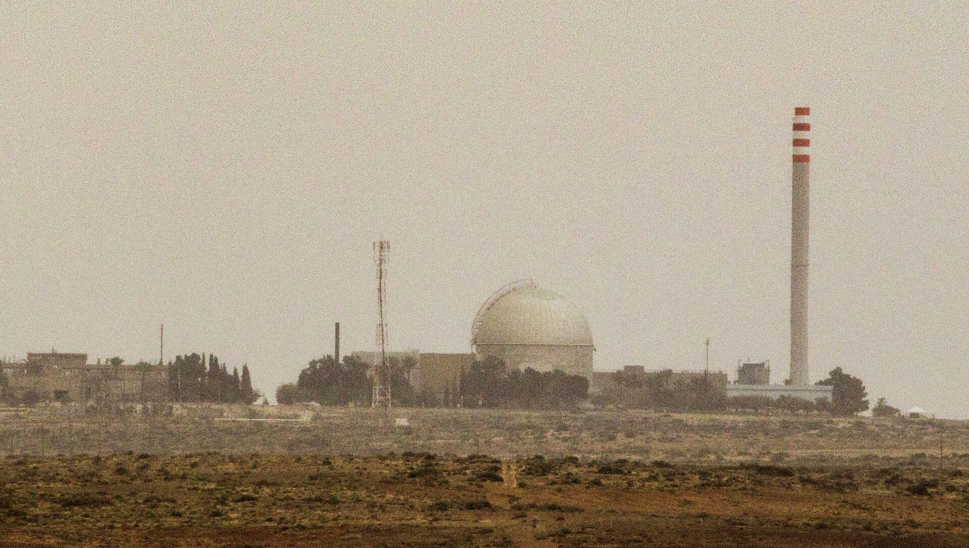 L'impianto nucleare di DImona, deserto del Negev, Sud di Israele, 8 marzo 2014 - Sputnik Italia, 1920, 22.04.2021