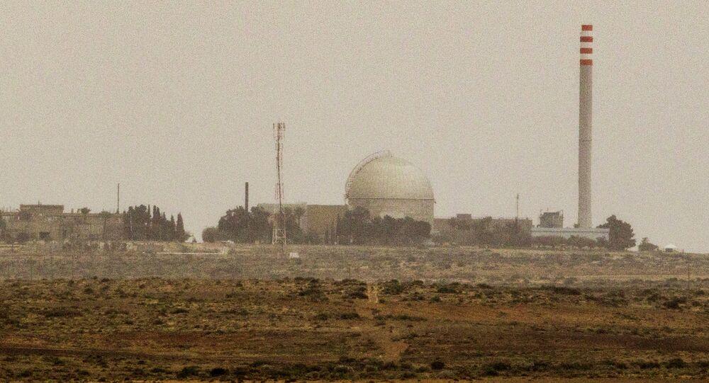 L'impianto nucleare di DImona, deserto del Negev, Sud di Israele, 8 marzo 2014