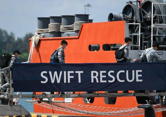 Operazioni di ricerca del sottomarino indonesiano scomparso