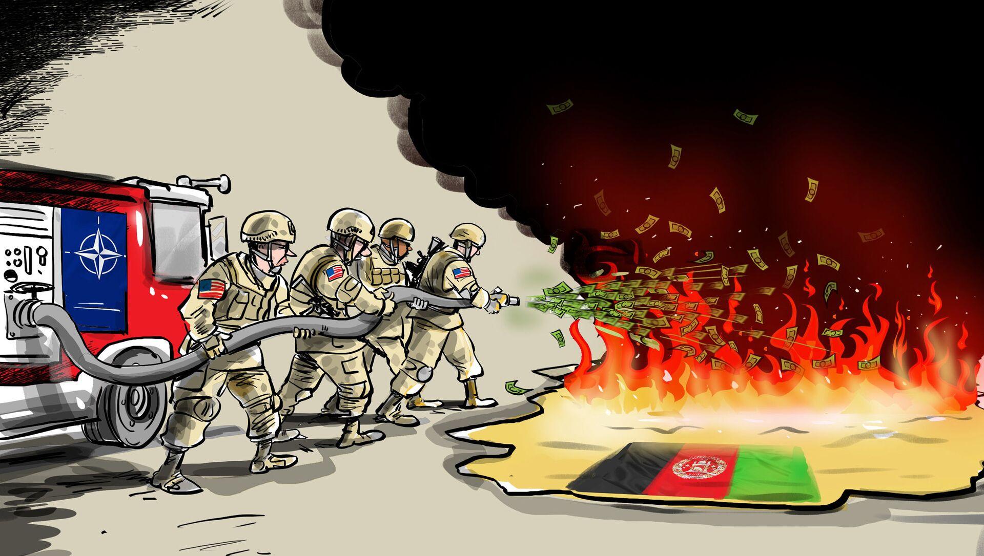 Afghanistan: la Nato sa come mandare in fumo miliardi di dollari - Sputnik Italia, 1920, 22.04.2021
