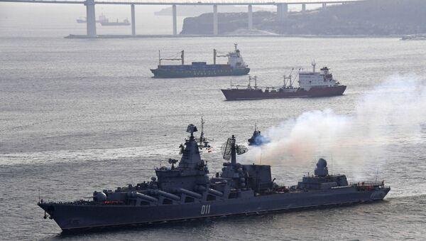 Le navi della Flotta russa del Pacifico - Sputnik Italia