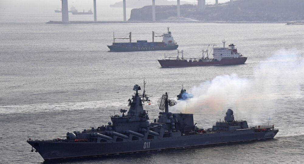Le navi della Flotta russa del Pacifico