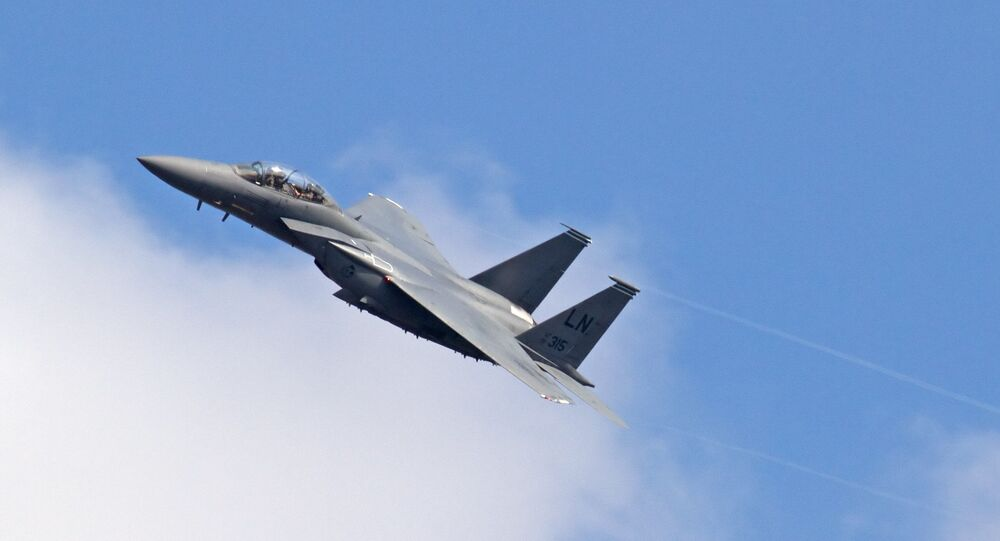 Caccia F-15E Strike Eagle