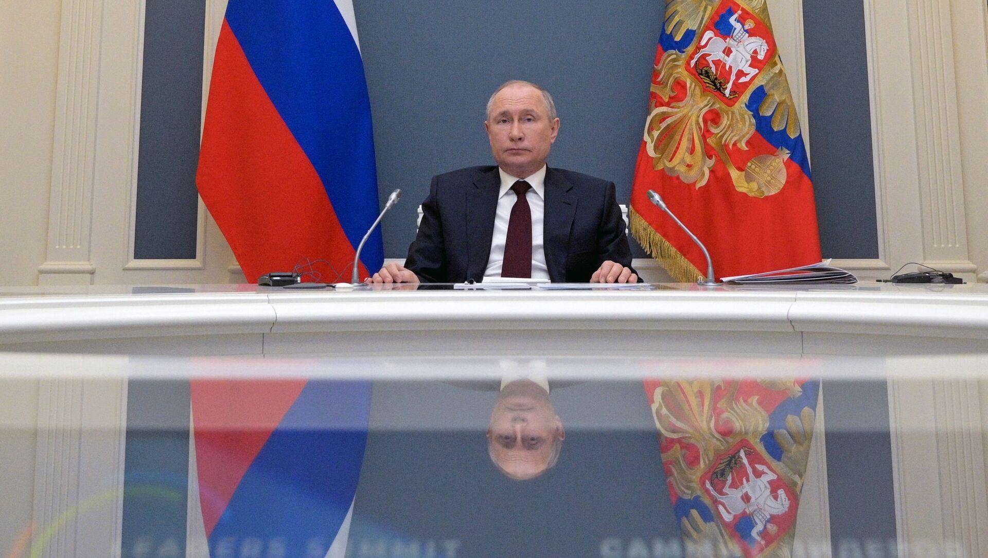 Il presidente russo Vladimir Putin - Sputnik Italia, 1920, 23.04.2021