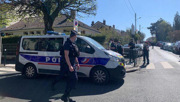 Il commissariato di Rambouillet dopo l'attacco con coltello - Sputnik Italia