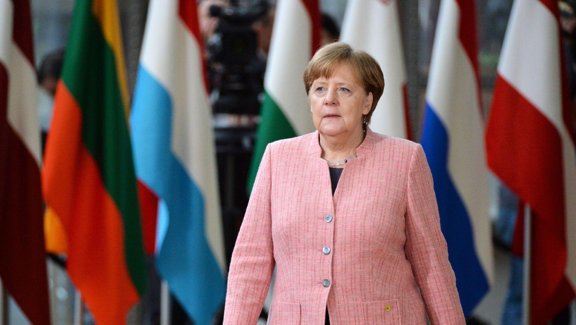 Il cancelliere tedesco Angela Merkel - Sputnik Italia, 1920, 25.04.2021