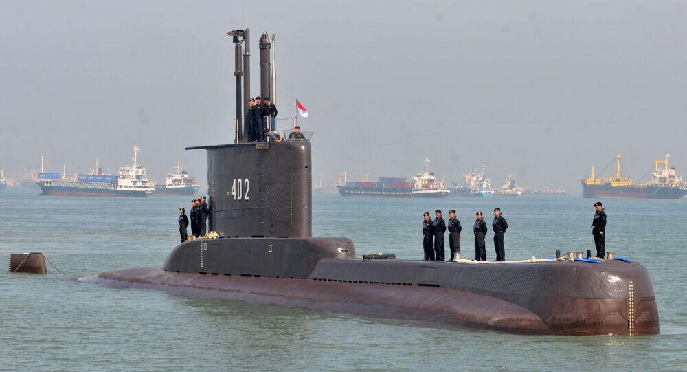 Il sottomarino indonesiano KRI Nanggala-402