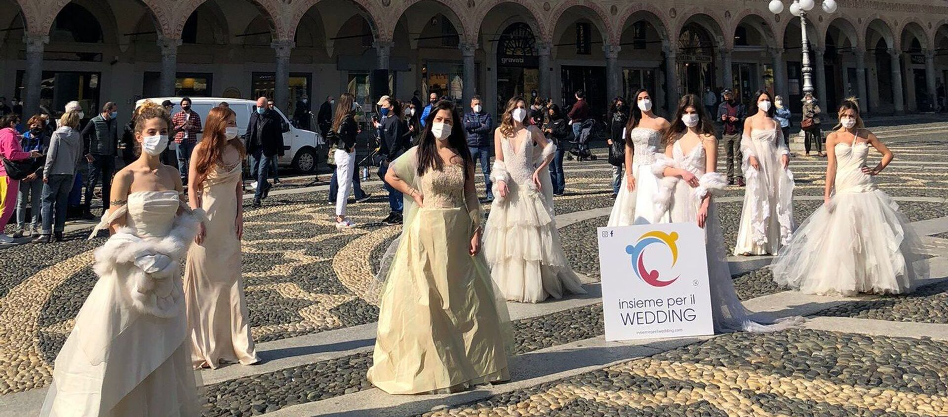 Insieme per il wedding - Sputnik Italia, 1920, 25.04.2021