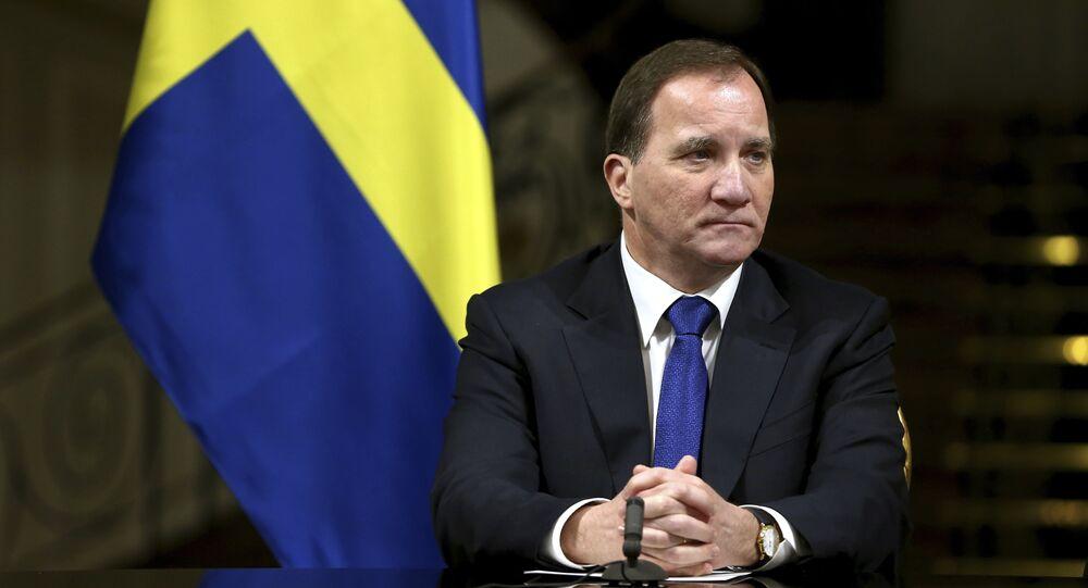 Primo ministro svedese Stefan Lofven