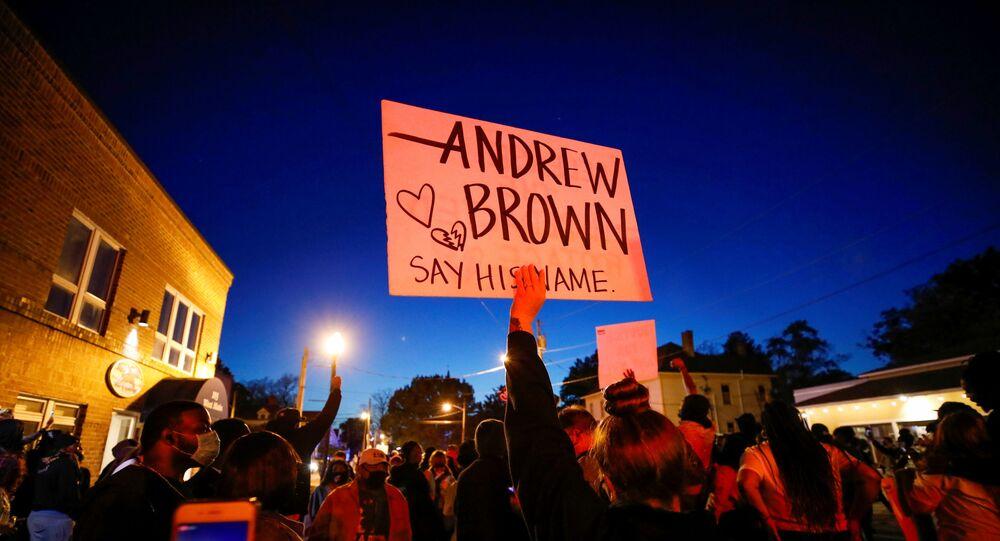 Proteste per morte Andrew Brown Jr.