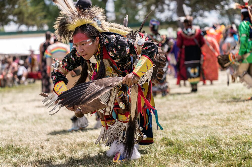 Il powwow, un raduno di nativi del Nord America