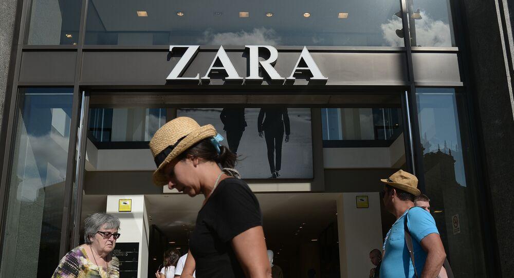 Negozio Zara in Spagna