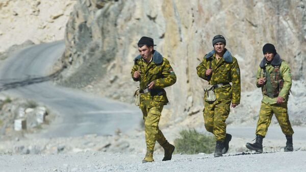 Guardia di frontiera del Tagikistan - Sputnik Italia