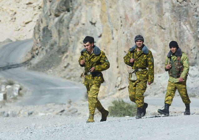 Guardie di frontiera del Tagikistan
