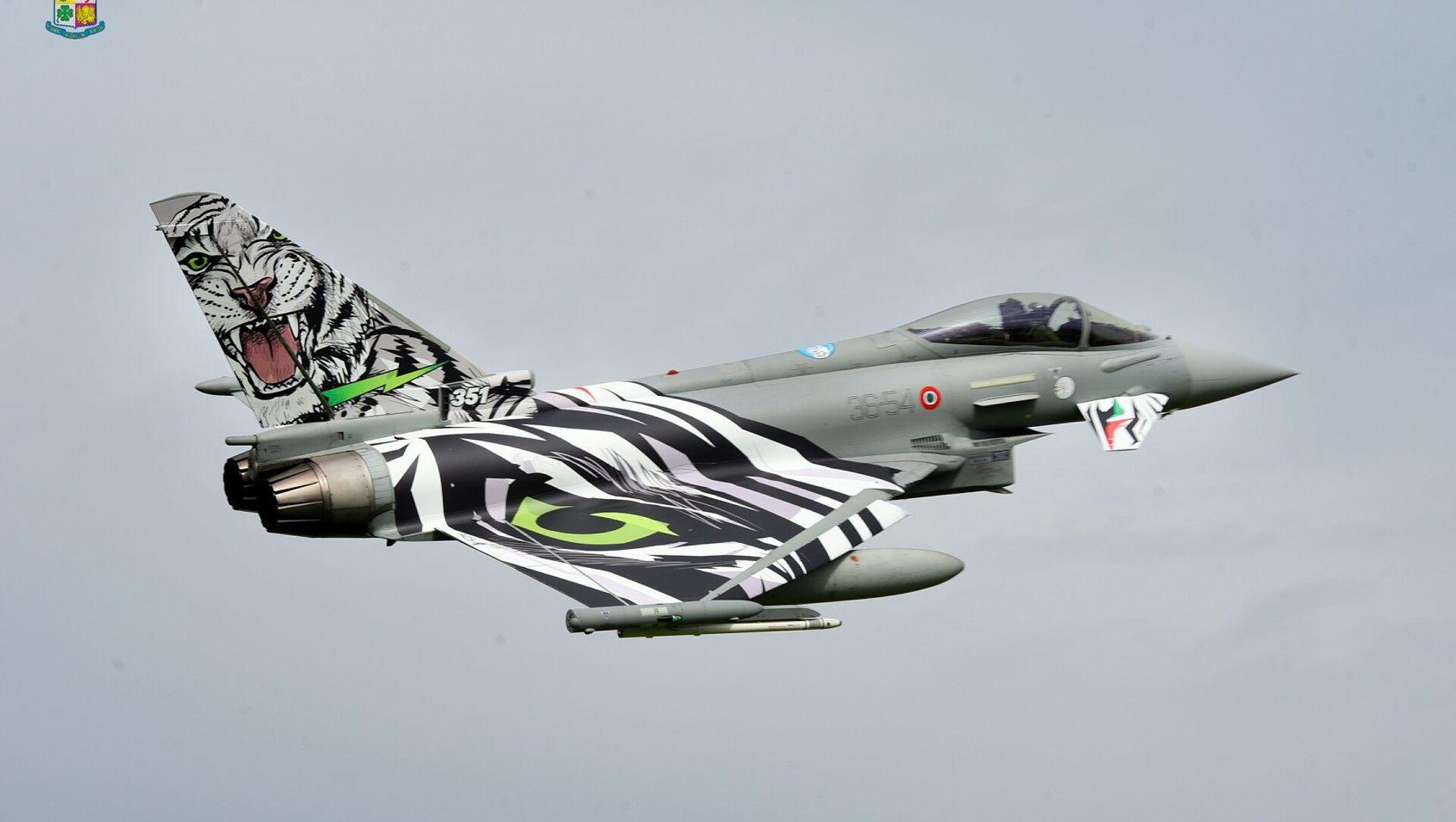 Per l'Italia parteciperanno il 12 esimo Gruppo del 36 esimo Stormo di Gioia del Colle di Bari (Eurofighter), e il 21 esimo Gruppo del 9° Stormo di Grazzanise di Caserta (elicotteri). - Sputnik Italia, 1920, 06.05.2021