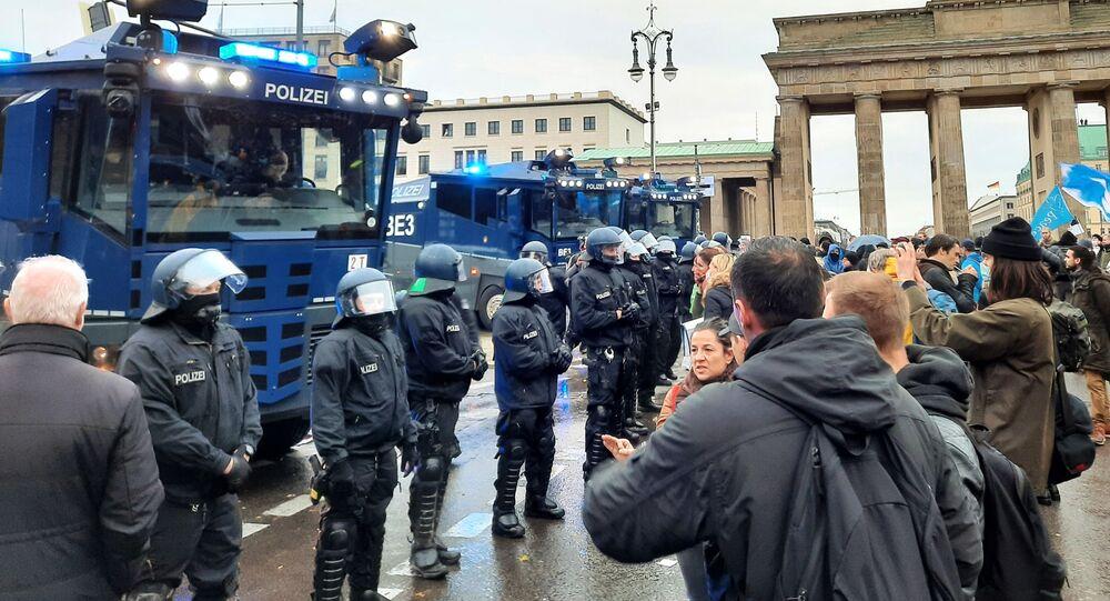 Proteste a Berlino