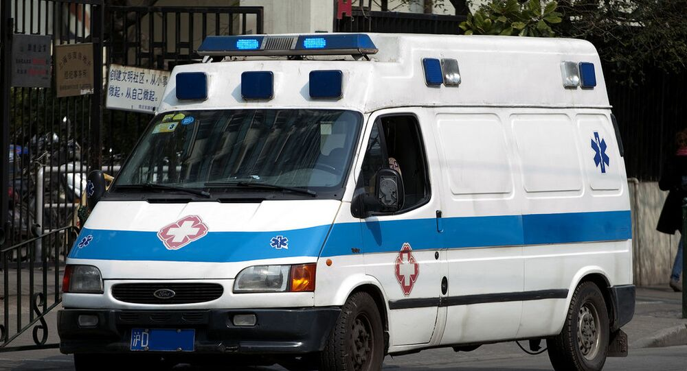 Ambulanza in Cina