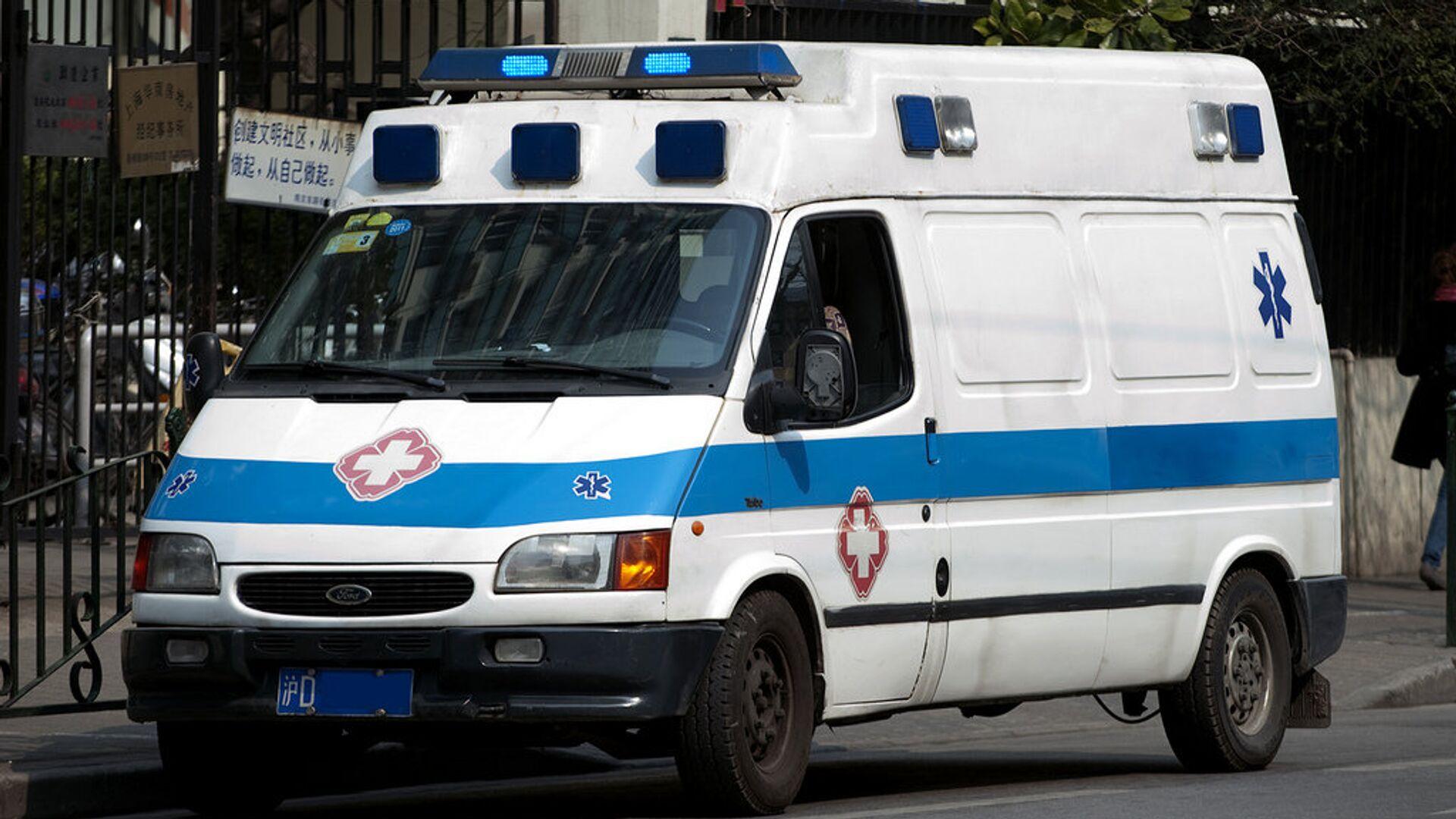 Ambulanza in Cina - Sputnik Italia, 1920, 01.05.2021