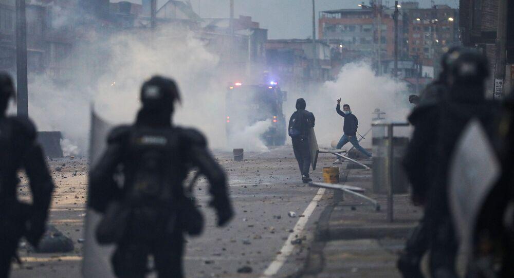 Proteste in Colombia