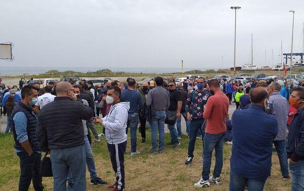 1 maggio protesta lavoratori Blutec di Termini Imerese - Sputnik Italia
