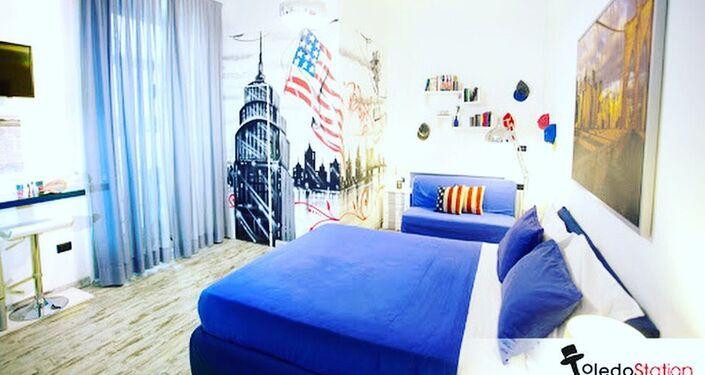 Una stanza nel B&B Toledo Station di Napoli