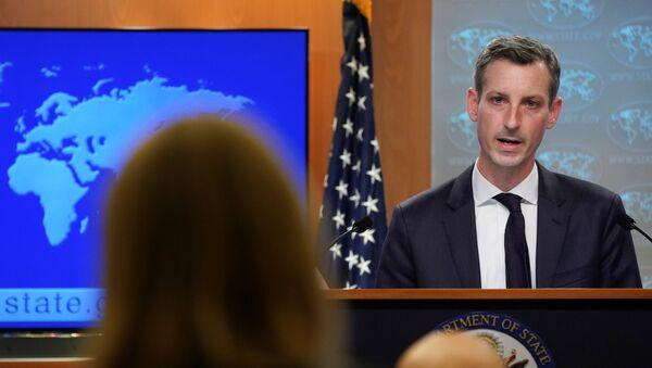 Il portavoce del Dipartimento di Stato americano Ned Price - Sputnik Italia