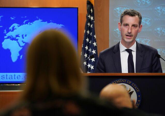 Il portavoce del Dipartimento di Stato americano Ned Price