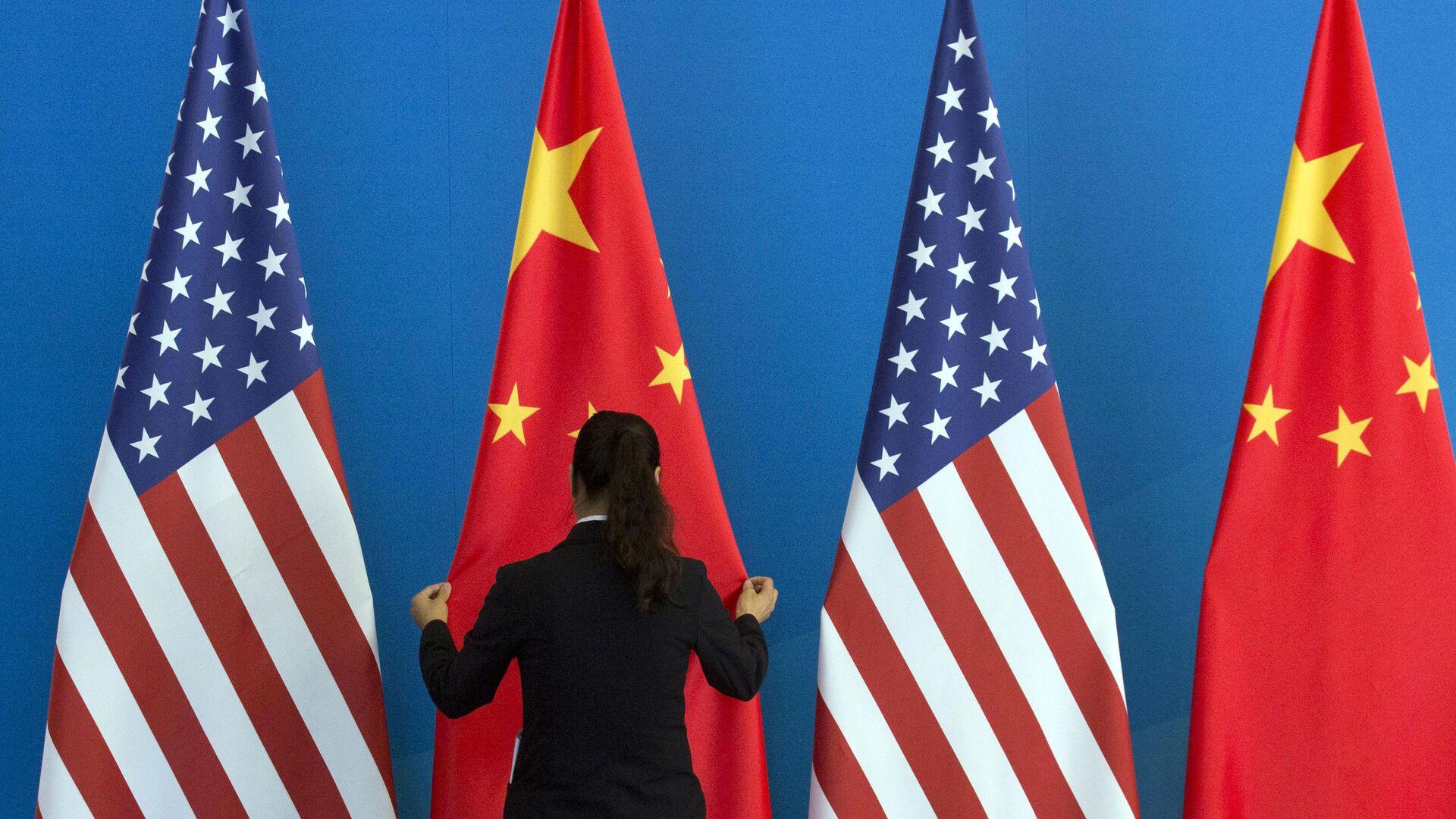 Bandiera USA e Cina - Sputnik Italia, 1920, 24.06.2021