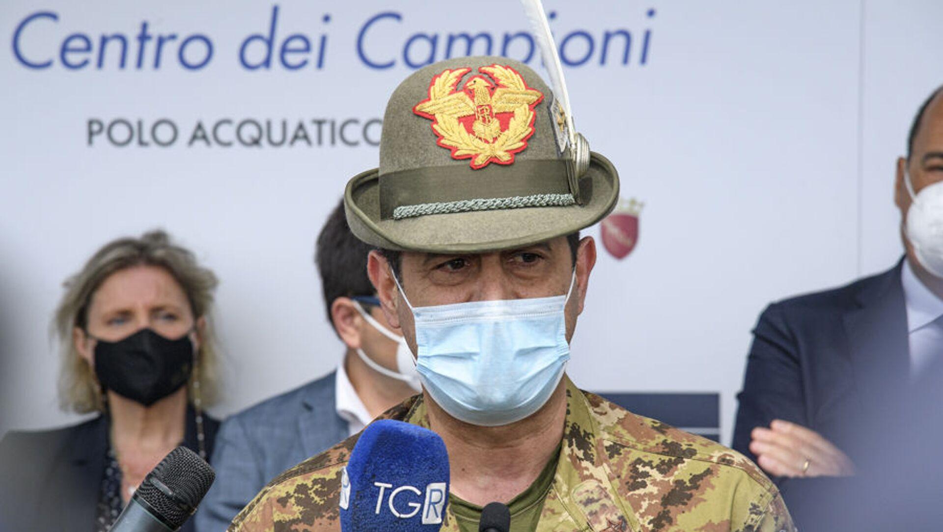 Apertura Hub Vaccinale Regione Lazio presso il Centro Federale FIN - Polo Acquatico Frecciarossa Ostia (RM) 3 maggio 2021 03/05/2021F - Sputnik Italia, 1920, 03.05.2021