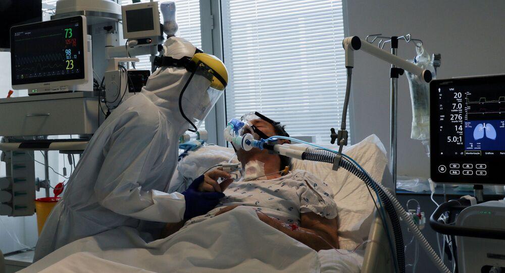 Un ospedale covid in Portogallo