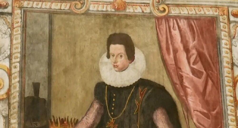 Riscoperti affreschi medicei nella Galleria degli Uffizi