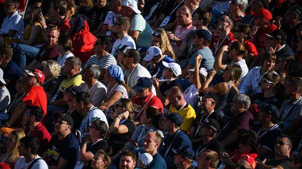 Pubblico ad un Gran Premio di Formula 1  - Sputnik Italia