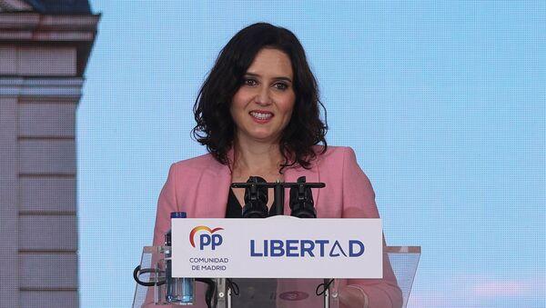 Isabel Díaz Ayuso - Sputnik Italia
