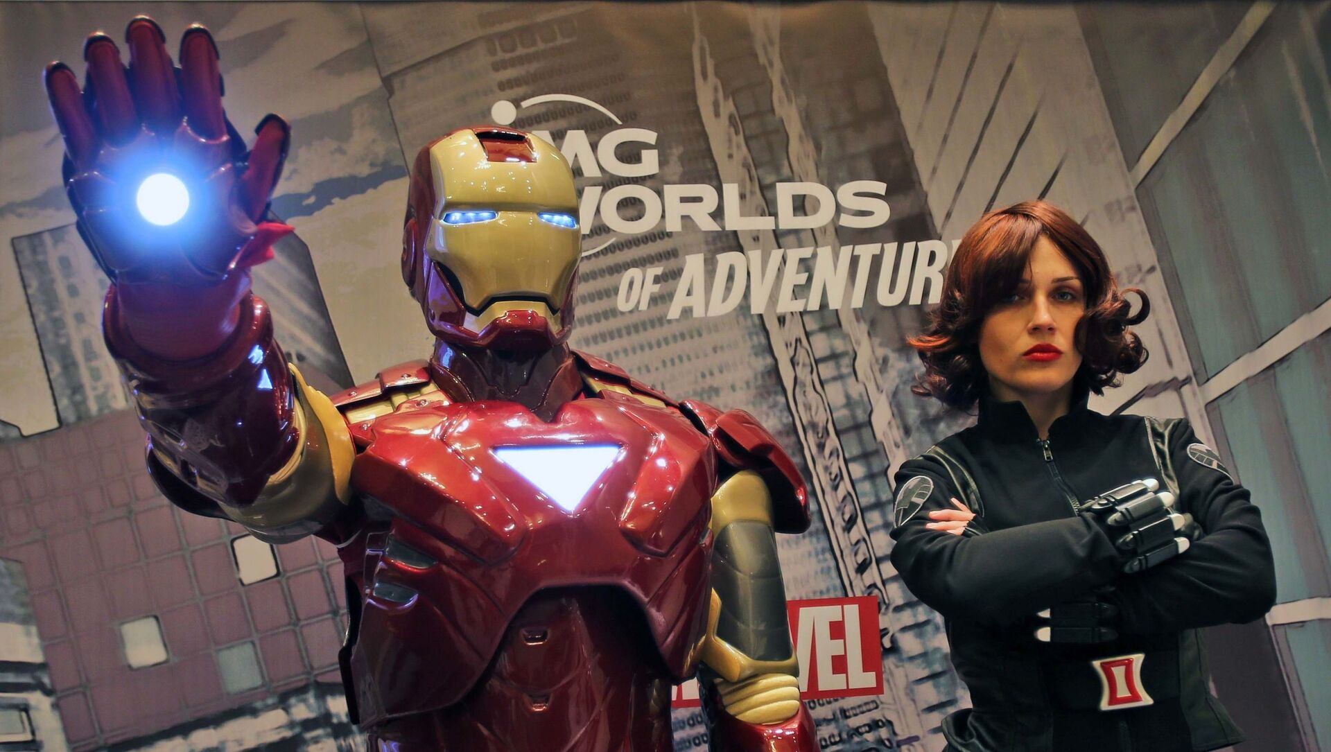 Iron Man e Black Widow - Sputnik Italia, 1920, 05.05.2021