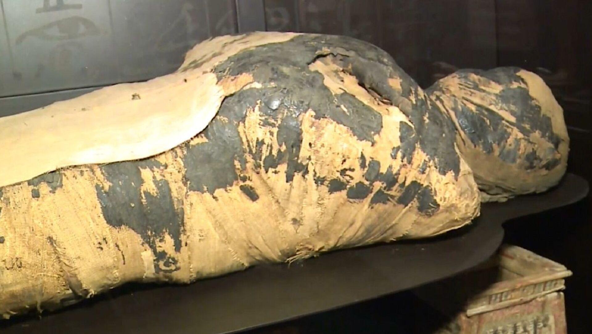 Mummia egiziana incinta - Sputnik Italia, 1920, 06.05.2021