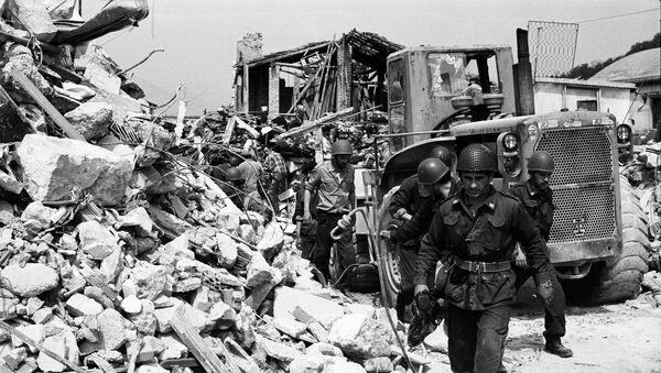 Terremoto del Friuli 6 maggio 1976 - Sputnik Italia
