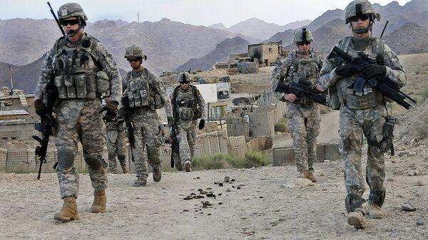 Militari USA alla base operativa di Baylough, Afghanistan - Sputnik Italia