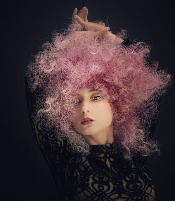 La foto Morgan in rosa, della fotografa statunitense Michelle Simmons, vincitrice nella categoria Ritratti della decima edizione del concorso fotografico Mobile Photography Awards - Sputnik Italia