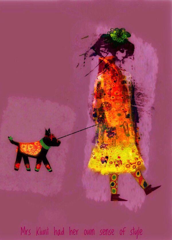 La foto La signora Klimt aveva il suo senso dello stile, del fotografo australiano Jen Mckenzie, vincitrice nella categoria Effetti visivi della decima edizione del concorso fotografico Mobile Photography Awards - Sputnik Italia