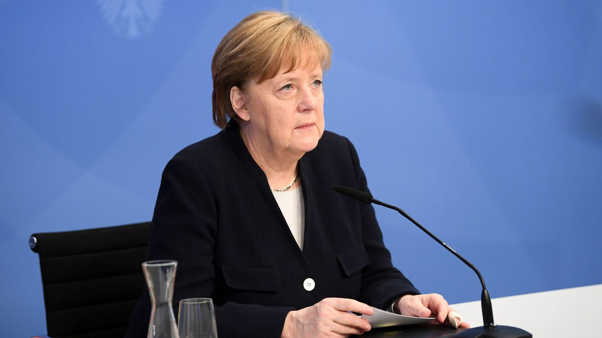 Angela Merkel - Sputnik Italia, 1920, 08.05.2021
