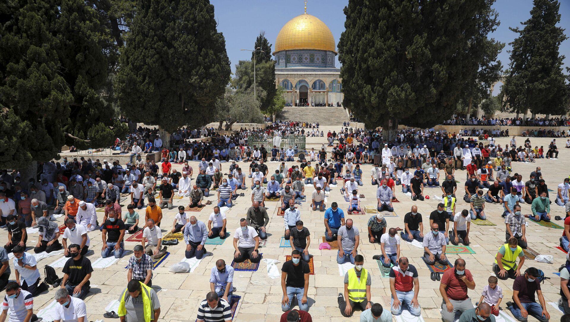 La Moschea di Al-Aqsa, 2020 - Sputnik Italia, 1920, 08.05.2021