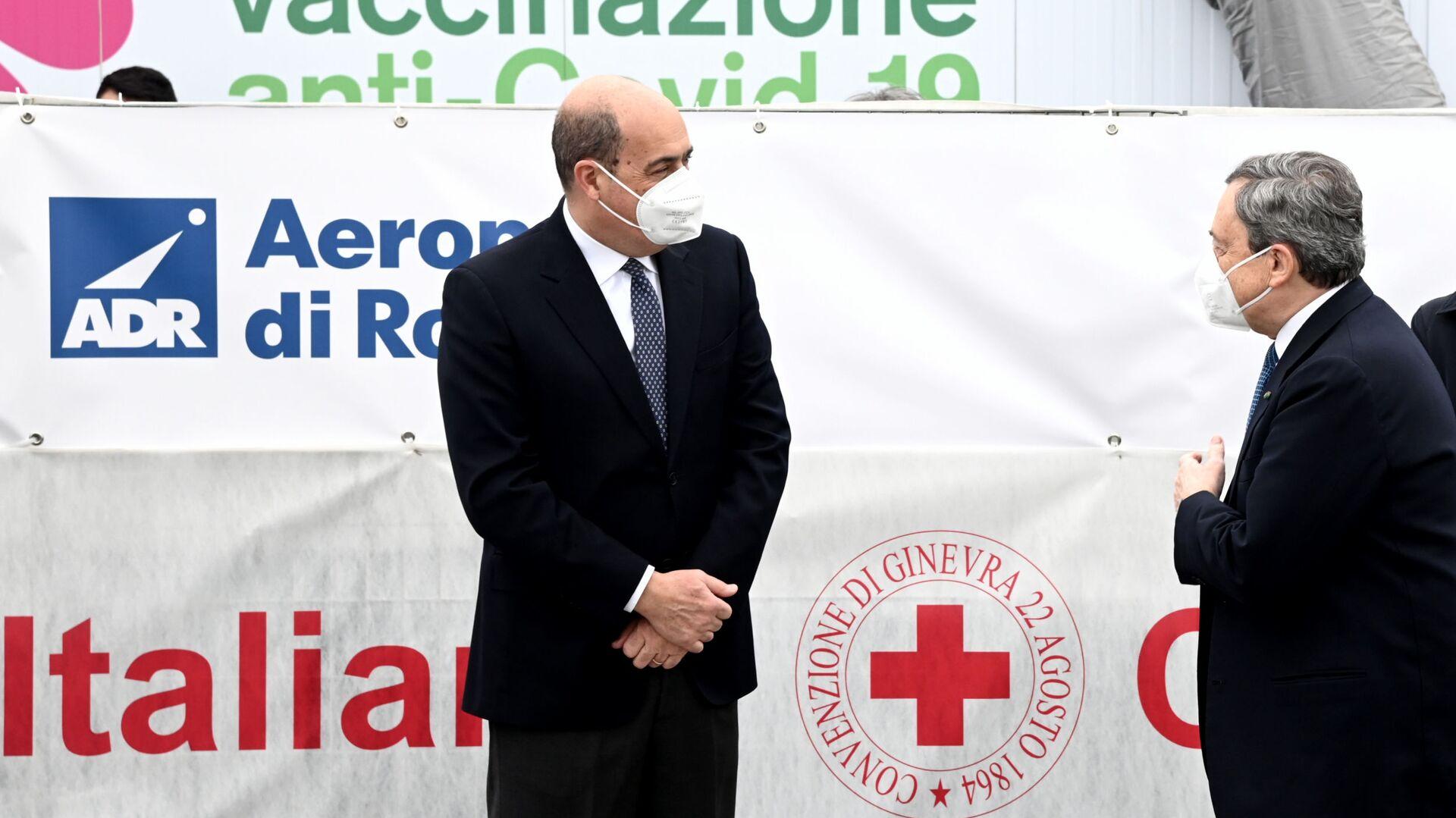 Nicola Zingaretti - Sputnik Italia, 1920, 08.05.2021