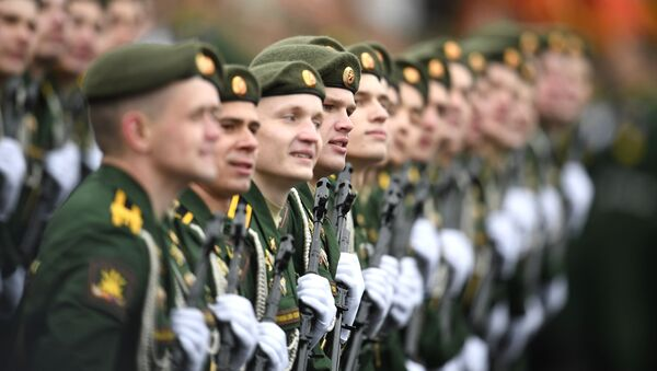 Parata militare a Mosca - Sputnik Italia