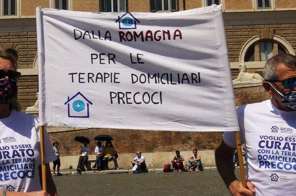 Manifestazione Terapia Domiciliari Precoci , 8 maggio 2021 Piazza del Popolo, Roma - Sputnik Italia